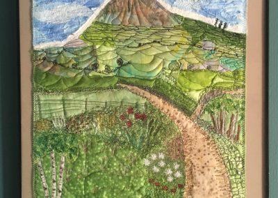 Catherine Fleming - Friend's Garden (Textile)