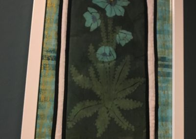 Catherine Fleming - Stained Glass Batik Flower