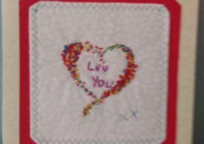 Mary McCormack - Birthday Card