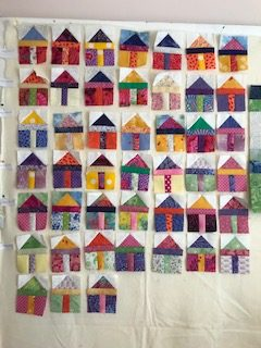 Michelle Moore - House Block (1 for each lockdown day)