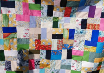 Joan Jones - Scrappy Quilt