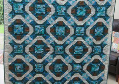 Catherine Bagnall - Kaleidoscope Quilt