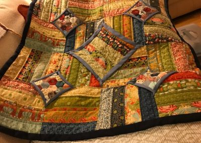 Joyce Donaldson - Lap Quilt made with 10 minute blocks