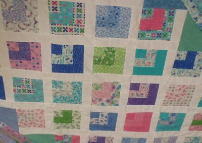 Rosemary Beckett- Flower Sacks Jelly Roll Quilt
