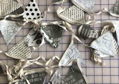 Jo Whitmore - Kaffe Fassett Fabric Bunting