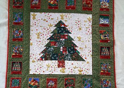 No 05 - Christmas Tree Quilt