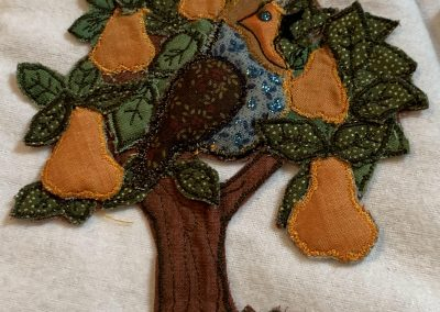 No 27 - Christmas Tree Skirt detail (4)