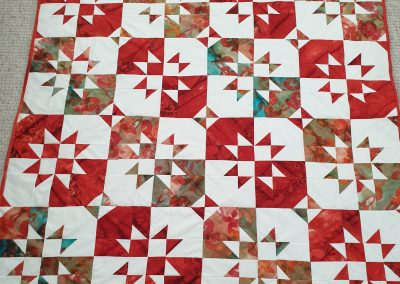 Bernie Weir - Disappearing 9 Patch Quilt