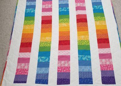 Bernie Weir - Rainbow Quilt