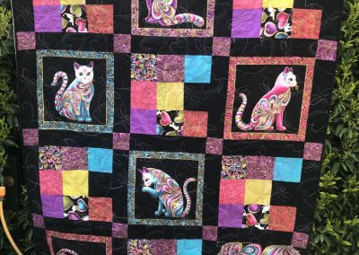 Jane Collins - A Virtual Hug Quilt - Quilted by Roisin McManus QYS