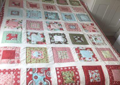 Estelle Scullion - Square in a Square Quilt