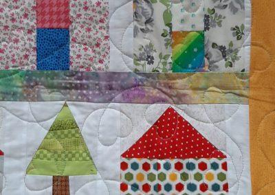 Helen Dodd - Village Quilt Detail (1)