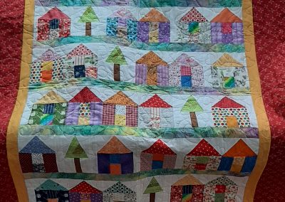 Helen Dodd - Village Quilt - Quilted by Roisin McManus of QYS