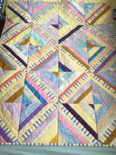 Pauline Waddell - Strip Quilt