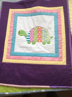 Pauline Waddell - Turtle Baby Quilt