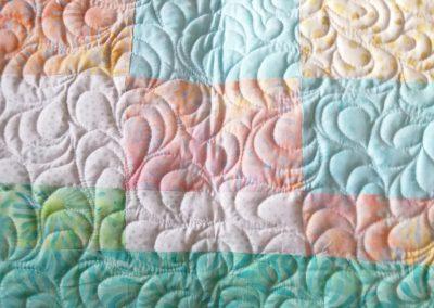 Joan Jones - Quilt back detail