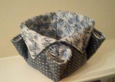 Geraldine McGettigan - Fabric Box as demonstrated by Helen Dodd (4)
