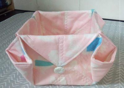 Geraldine McGettigan - Fabric Box as demonstrated by Helen Dodd (1)