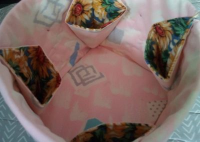 Geraldine McGettigan - Fabric Box as demonstrated by Helen Dodd (2)