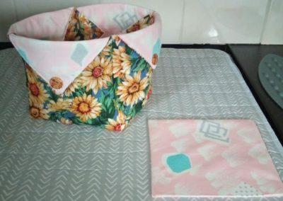 Geraldine McGettigan - Fabric Box as demonstrated by Helen Dodd (3)