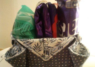 Geraldine McGettigan - Fabric Box as demonstrated by Helen Dodd (5)